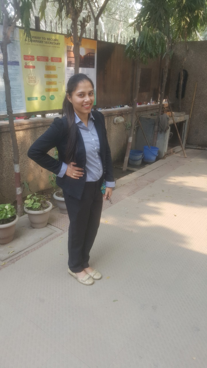 company secretary in delhi - CS Riya Khurana